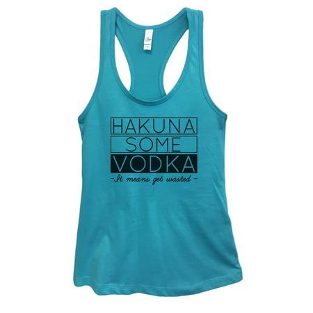 Skyy Blue Vodka (Womens Basic Tank Top