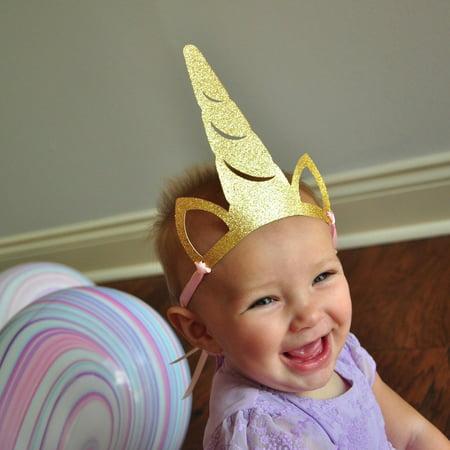 Unicorn Party Horn Hats. Unicorn Party Favors. Unicorn Accessories. 5CT.