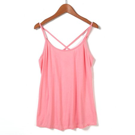 Peste Christmas Big Sale   Comfortable Casual Tank Tops For Women 3 Colors  Red  Pink  Blue