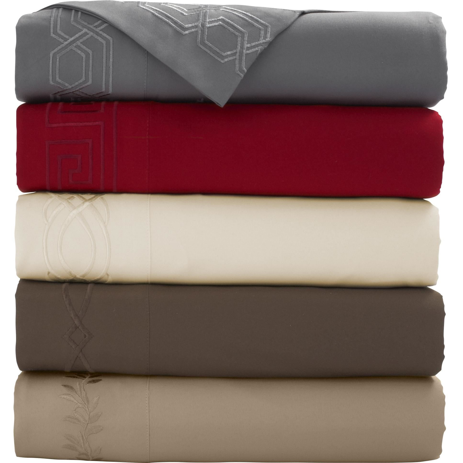 Mainstays Embroidered Microfiber Sheet Set