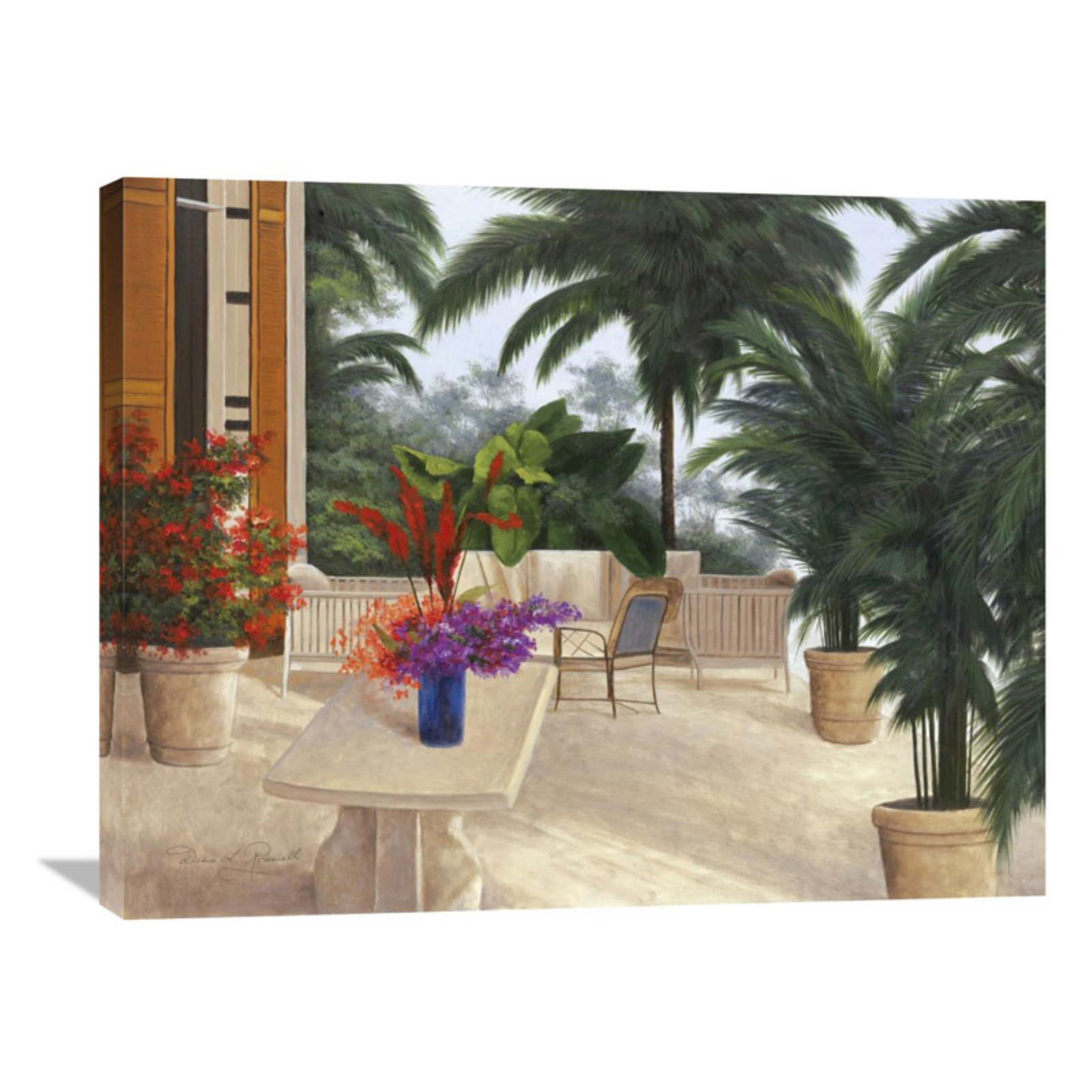 Global Gallery Private Patio Wall Art Walmart Com