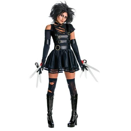 Edward Scissorhands Miss Scissorhands Adult Halloween (Children's Edward Scissorhands Costume)