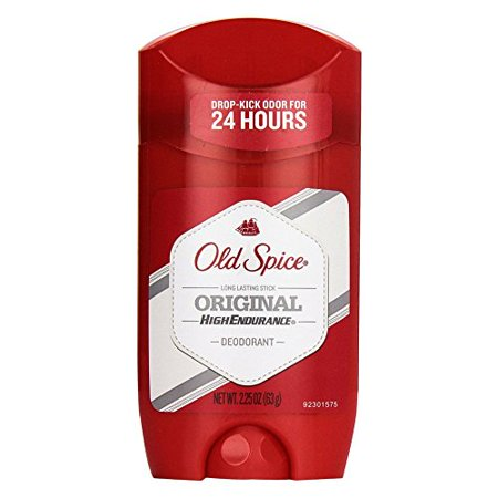 5 Pk Old Spice High Endurance Deodorant Long Lasting Stick Original Scent 2.25oz