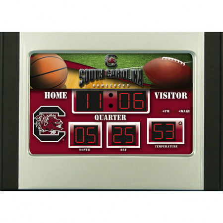 South Carolina Gamecocks 6.5'' x 9'' Scoreboard Desk Clock - No (Game Clocks Scoreboards)