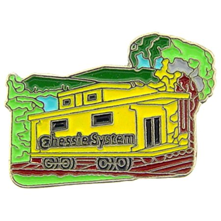"""Chessie Caboose Pin 1"""""""