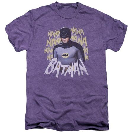 Batman Classic Tv Theme Song Mens Premium Tee Shirt - Songs With Halloween Theme