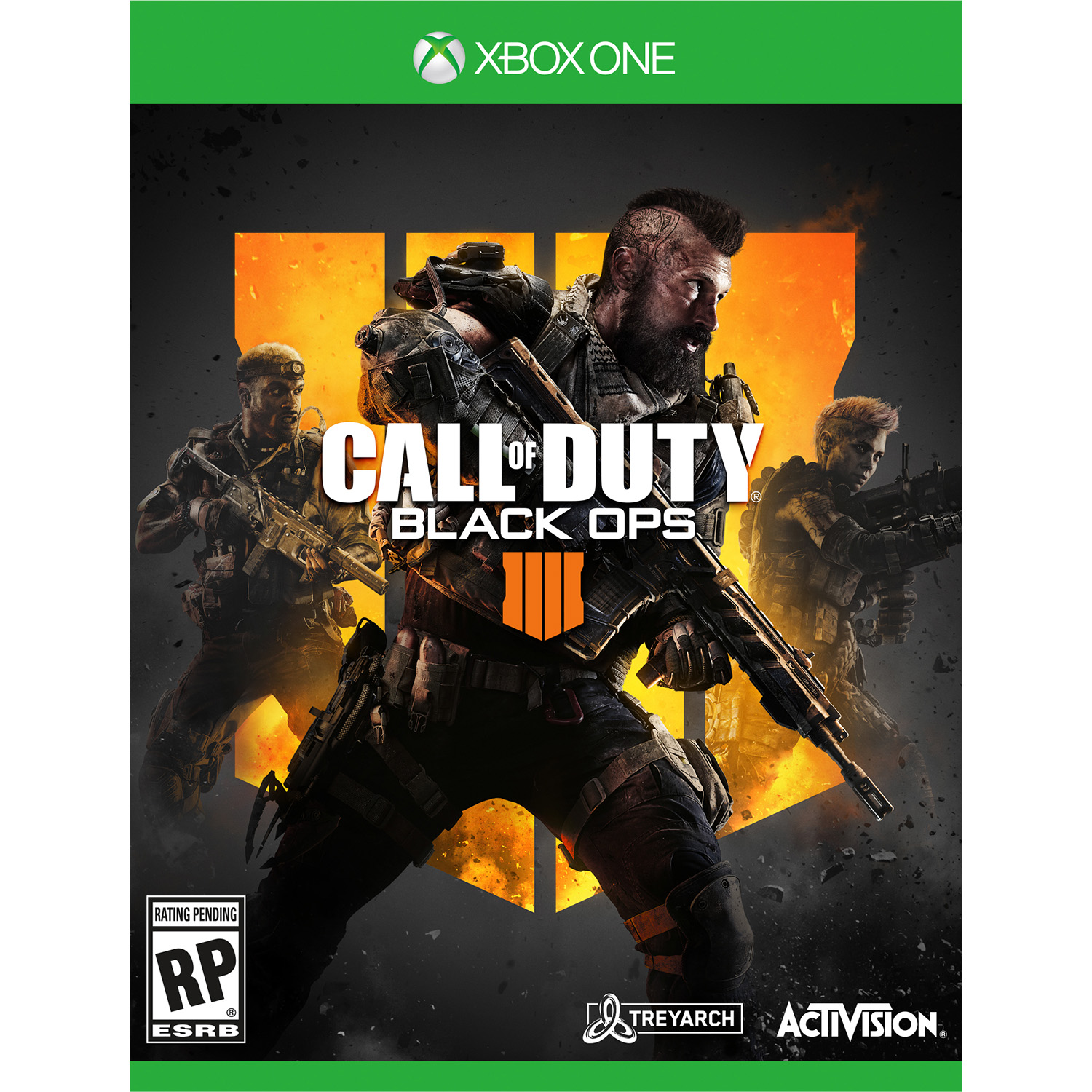 Call of Duty: Black Ops 4, Activision, Xbox One, REFURBISHED/PREOWNED