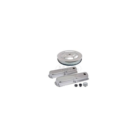 MACs Auto Parts Premier  Products 42-38832 Engine Dress-Up Kit - Chrome - 260, 289, 302 & 351 Windsor V8 ()