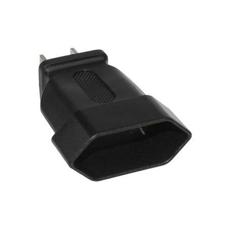 01 Plug Prong - Europe  to USA 2 Prong Power Plug Adapter