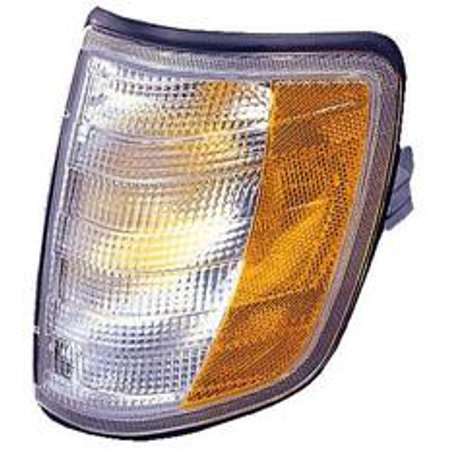 Compatible 1994 - 1995 Mercedes Benz E320 Parking + Signal Light (Park/Signal Combination + with Bulb) - Left (Driver) 124 826 11 43 MB2520105 Replacement For Mercedes-Benz E320