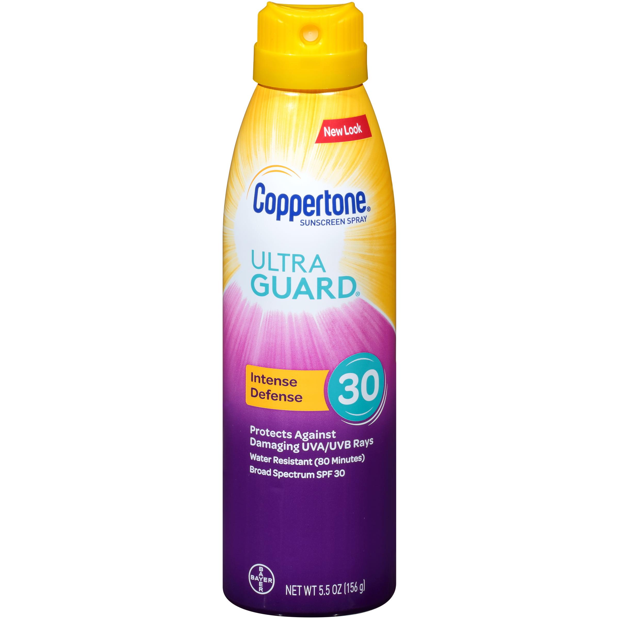 Coppertone Ultra Guard Sunscreen Continuous Spray SPF 30, 5.5 oz