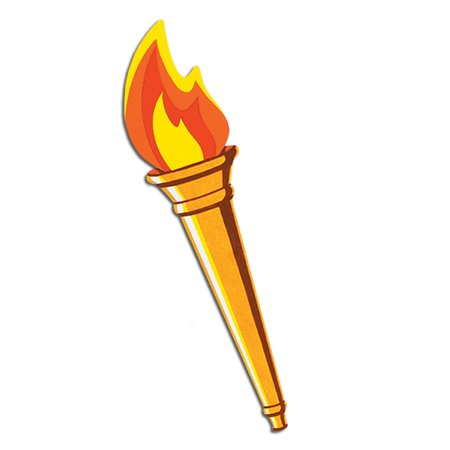 Club Pack of 24 Medieval Torch Cutout Sport Themed Party Decorations 24