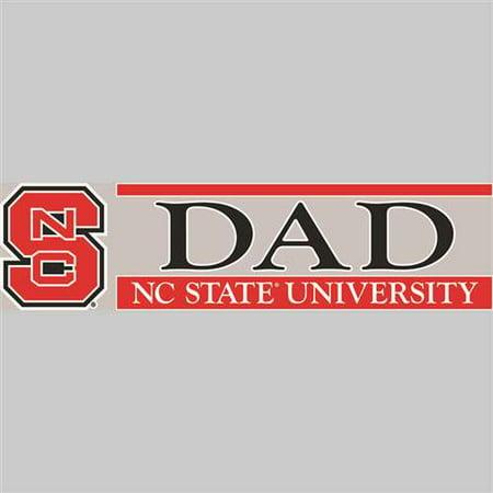North Carolina State Wolfpack Die Cut Decal Strip - (Sox Die Cut Decal)