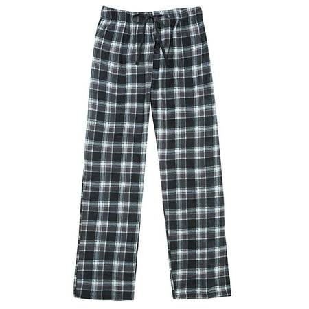 Fleece Lounge Set - North 15 Men's Super Soft, Plaid Polar Fleece Lounge Pants-1225-Design7-Lg