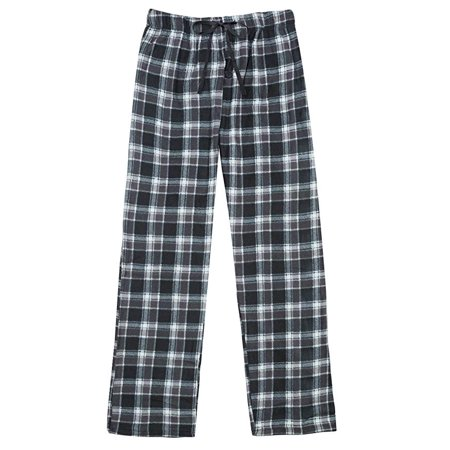 North 15 Men's Super Soft, Plaid Polar Fleece Lounge Pants-1225-Design7-Lg