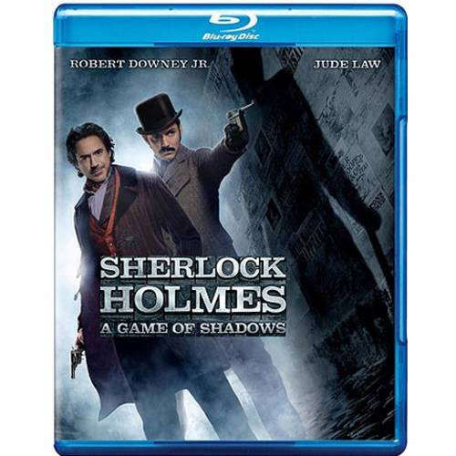Sherlock Holmes: A Game Of Shadows (Blu-ray + DVD + Digital HD With UltraViolet) (With INSTAWATCH)