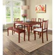 Better Homes and Gardens Ashwood Road Dining Table, Brown Cherry