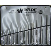 Wilde Tool K12.Np/Vr 12-Piece Punch & Chisel Set Natural Finish-Vinyl Roll