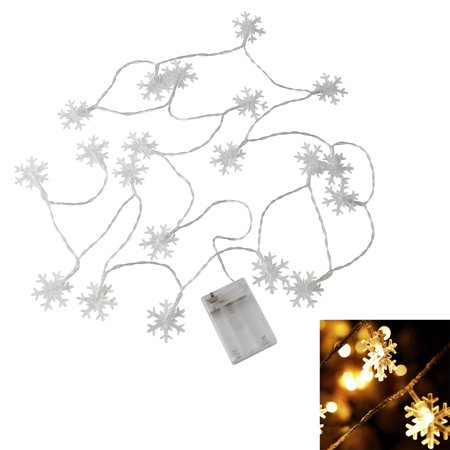Christmas Tree Windows Snowflake String Light Decoration Ornament ()
