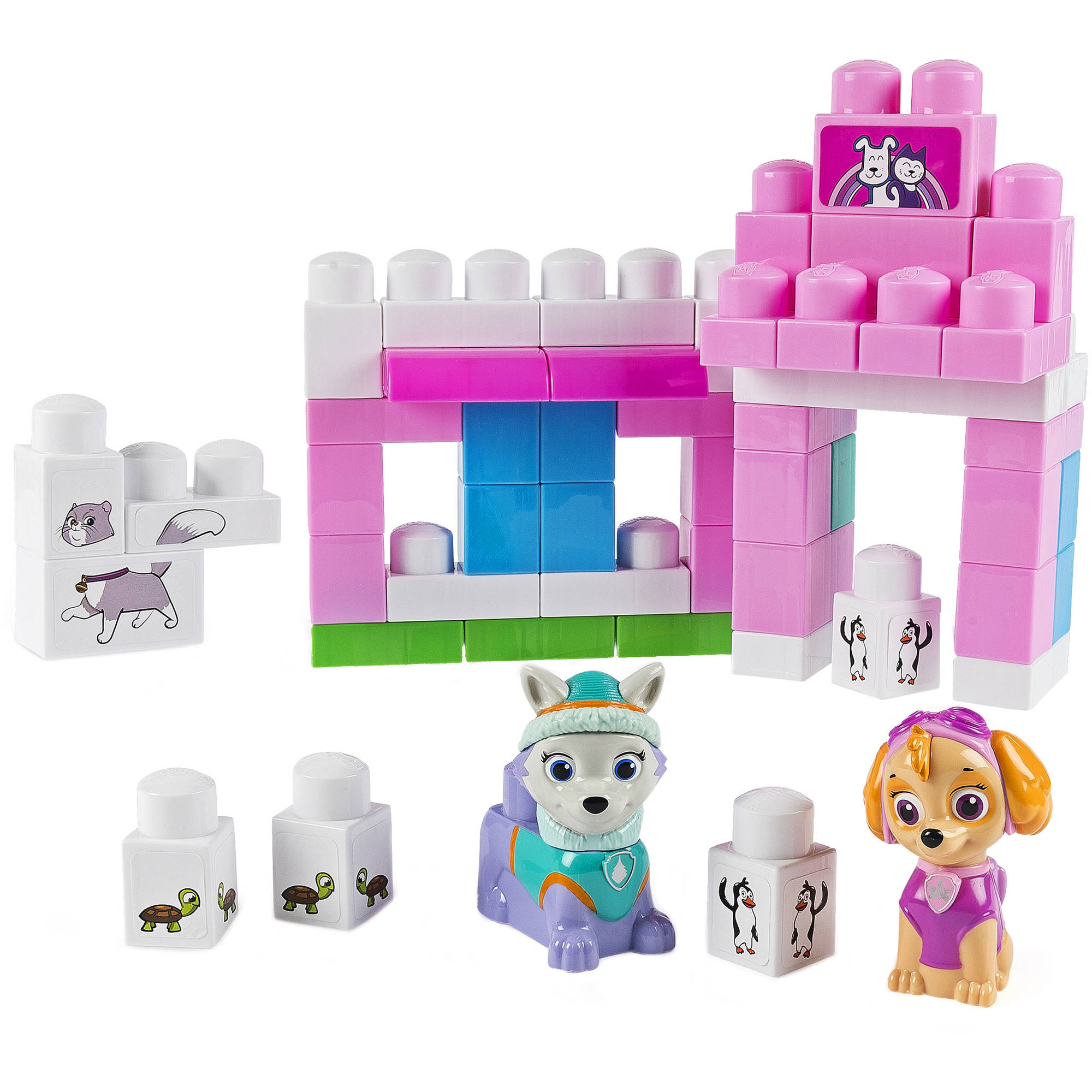 IONIX Jr. Paw Patrol Katie's Pet Parlor Block Set, Skye and Everest by Spin Master Ltd