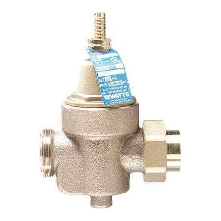 Watts Water Pressure Regulator (WATTS REGULATOR Water Pressure Reducing Valve,4-7/8 in. 1