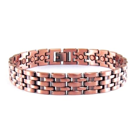 ProExl Mens Magnetic Pure Copper Bracelet Toro with Magnets for Arthritis Pain Relief