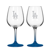 Los Angeles Dodgers 12oz Mlb/dodgers Gmd Wine Gls 1pk Bxd