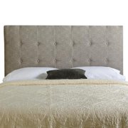 Mozaic Company Humble + Haute Stratton Queen Ash Grey Upholstered Tufted Headboard
