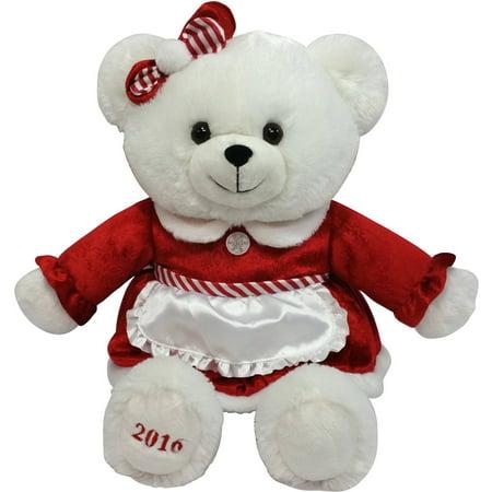 holiday time christmas 2016 red bear