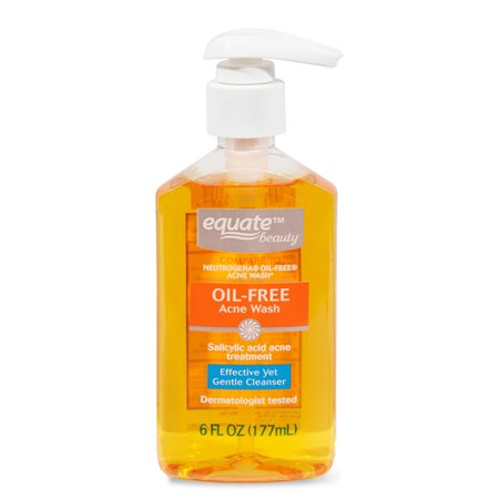 Equate Beauty Oil-Free Acne Wash, 6 fl oz