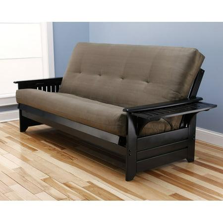 Kodiak Furniture Phoenix Suede Futon and Mattress ()