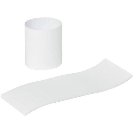 Royal Paper Napkin Bands, Paper, White, 1 1/2