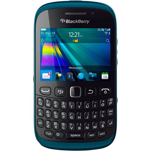 BlackBerry Curve 9220 Smartphone, Teal Blue (Unlocked)