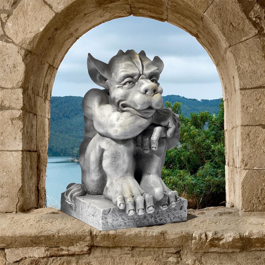 Design Toscano Gaspar, Watcher of Souls Gothic Gargoyle Statue