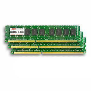 24GB Kit for Apple Mac Pro (5,1) (3 x 8GB)  DDR3-1333 PC3-10600 ECC 240 Pin DIMM MC729G/A x 3