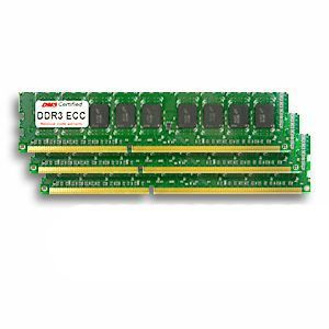 24GB Kit for Apple Mac Pro (5,1) (3 x 8GB)  DDR3-1333 PC3-10600 ECC 240 Pin DIMM MC729G/A x 3