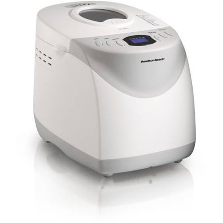 Hamilton Beach HomeBaker 2 Pound Automatic Breadmaker with Gluten Free Setting | Model#