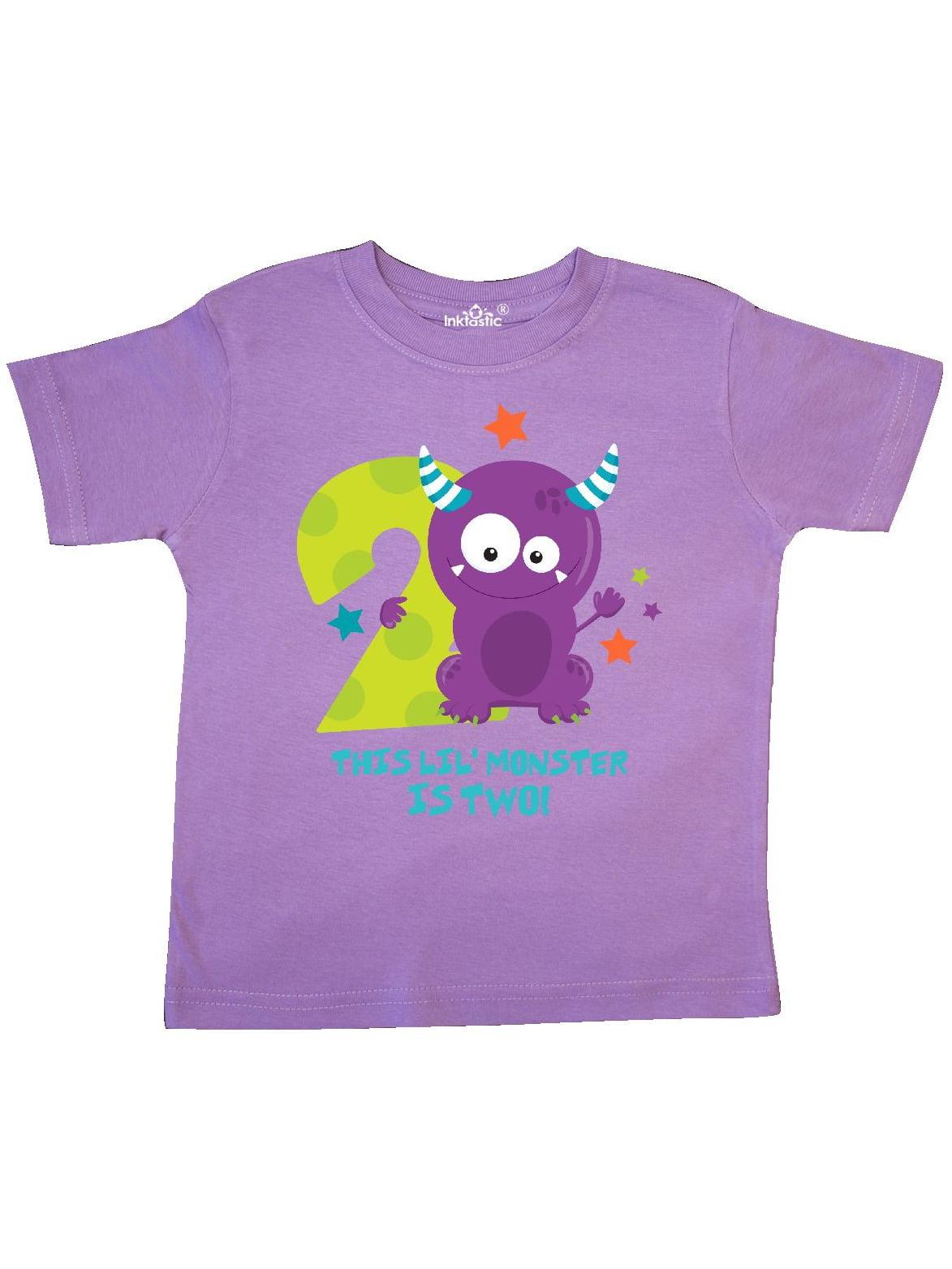 Monster 2nd Birthday Toddler T-Shirt