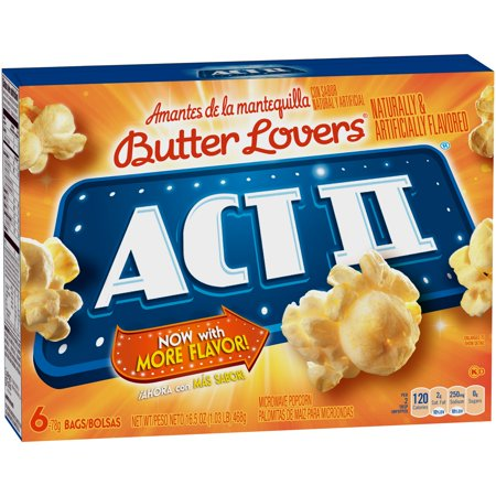 Act Ii Butter Lovers 6 Pk