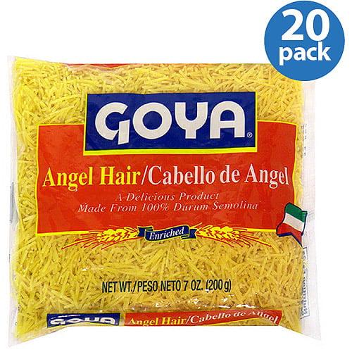 Goya Vermicelli Pasta 7 Oz Pack Of 20 Walmart Com
