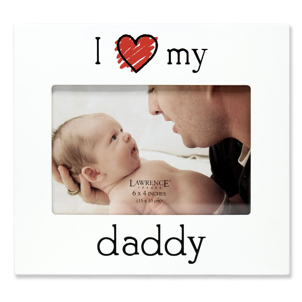 "6x4 ""I Love my Daddy"" Picture Frame"
