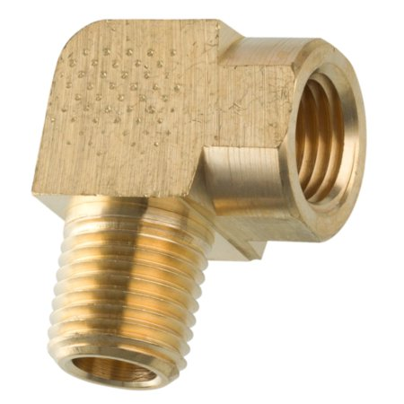 American Grease Stick (AGS) Brass Street Elbow, Male (1/4