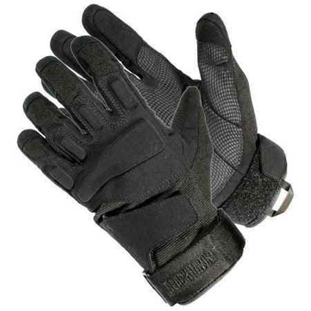 Finger Assault Gloves - BLACKHAWK! SOLAG Tac Gloves 8063XXBK - FULL FINGER BK 2X