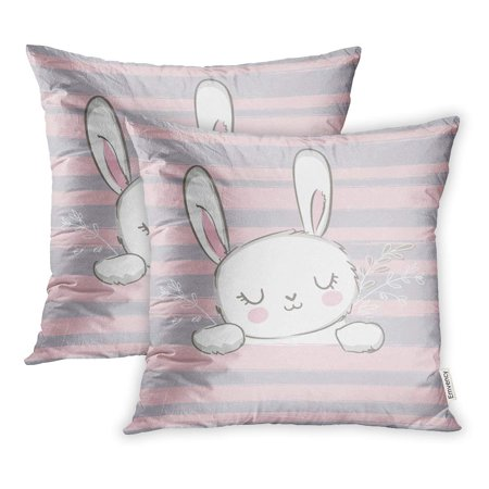 Ywota Pink Baby Cute Bunny Rabbit Children Sketch Animal