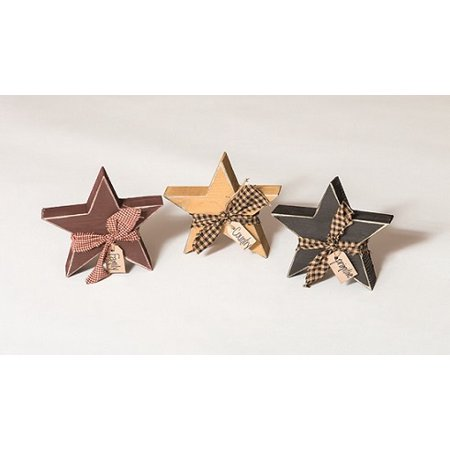 Furniture Barn USA™ Primitive Decorative Country Chunky Rustic Star Cut Outs (Pottery Barn Halloween Party Ideas)