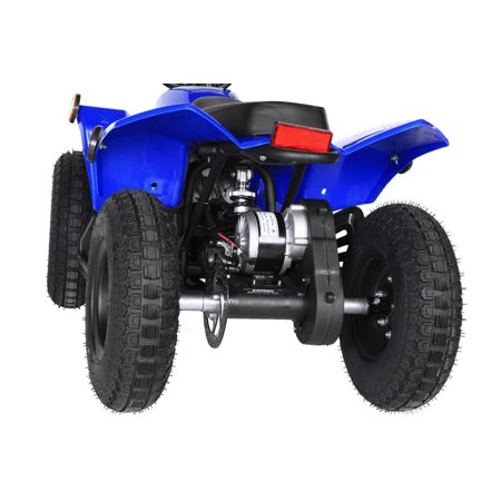T4B SPARK Mini ATV 250W Brushless Electric KIDS Dirt Quad, 24V13.7Ah, All Terrain, Recreational Outdoors, Off-Road, 3-6 y.o. - Blue - image 10 of 11