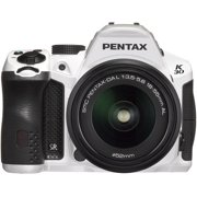 Pentax K-30 lens kit white w DA 18-55WR Weather-Sealed 16 MP CMOS Digital SLR with DA 18-55mm and 3-Inch LCD Screen