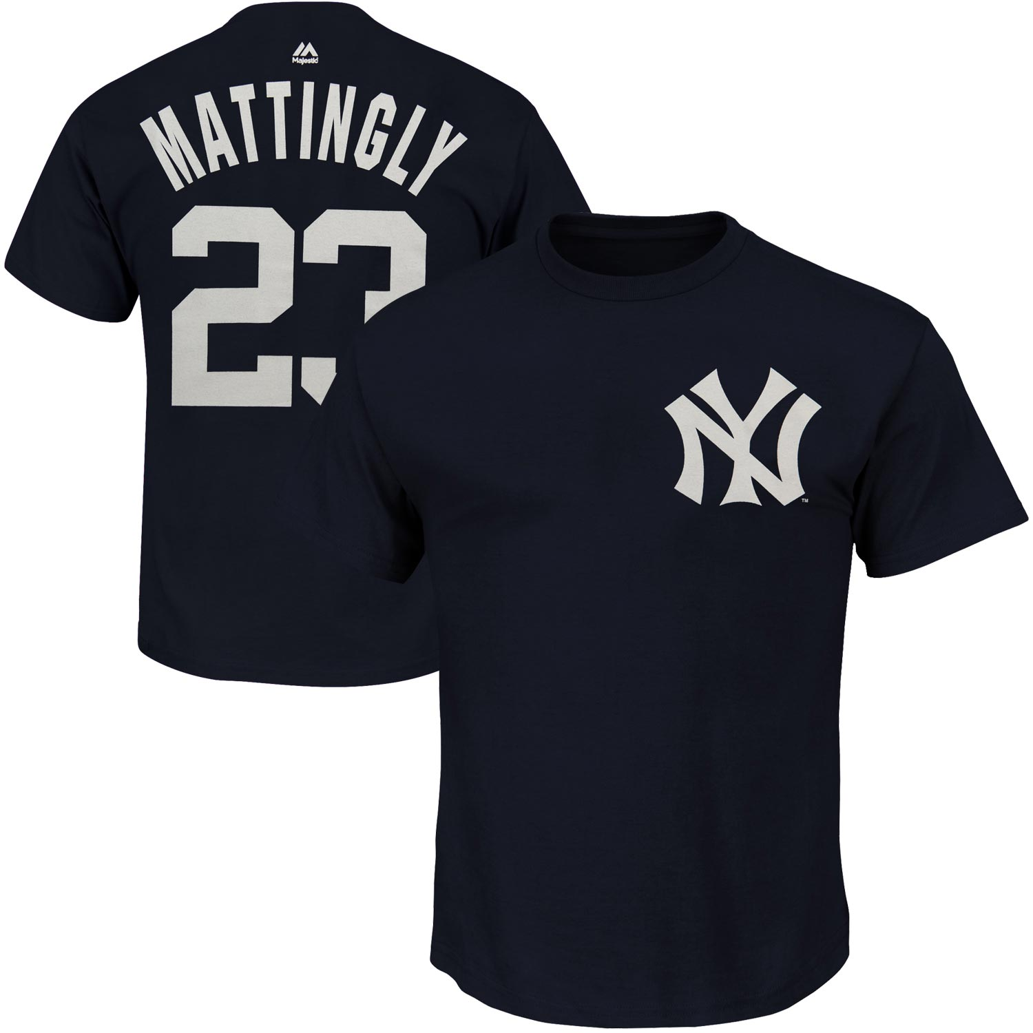 Don Mattingly New York Yankees Majestic Big & Tall Cooperstown Name & Number T-Shirt - Navy