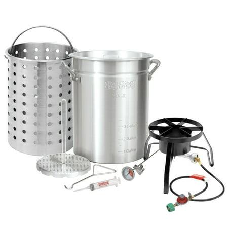 Bayou Classic Aluminum Turkey Fryer Kit with Basket - 30