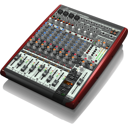 Behringer UFX1204 12 Input 16 Channel USB Recorder Mixer w/ XENYX Mic Preamps